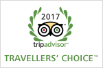 TripAdvisor Travellers' Choice 2017